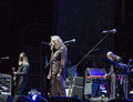 Robert plant and the sensational spaceshifters in live concert at cavea auditorium parco della musica rome july Stock Images