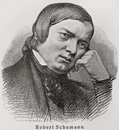 Robert Schumann Royalty Free Stock Images