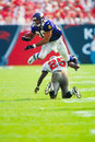 Robert smith minnesota vikings former runningback image taken from color slide Royalty Free Stock Images