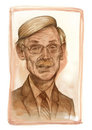 Robert Zoellick Sketch Royalty Free Stock Photos