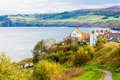 Robin Hood's Bay in North Yorkshire, UK Royalty Free Stock Photo
