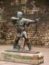 Robin Hood of Nottingham Royalty Free Stock Photo