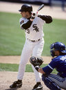 Robin ventura chicago white sox b image taken from a color slide Royalty Free Stock Photography