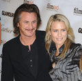 Robin Wright Penn,Sean Penn Royalty Free Stock Photos