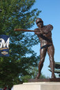 Robin Yount Statue at Miller Park, Milwaukee, WI Royalty Free Stock Photo