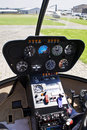 Robinson R44 - Instrument Panel Royalty Free Stock Photo