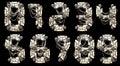 Robo Font Royalty Free Stock Photo