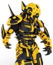 Robot bee Royalty Free Stock Photo