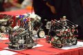 Robot contest creative interscholastic cup of in miaoli taiwan Royalty Free Stock Image