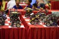 Robot contest creative interscholastic cup of in miaoli taiwan Royalty Free Stock Photography