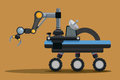 Robot digital design vector illustration eps Stock Photo