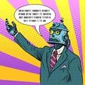 The robot leader politician