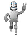 Robot services technology business concept Royalty Free Stock Photography