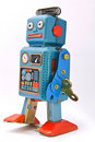Robot toy Stock Photo