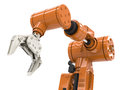 Robotic arm Royalty Free Stock Photo