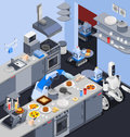 Robotic Kitchen Maid Composition