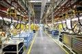 Robotics production lines Royalty Free Stock Photo
