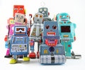 Robots Royalty Free Stock Photos