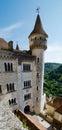 Rocamadour episcopal palace in Stock Photos