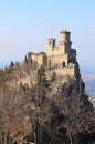 Rocca della guaita most ancient fortress san marino republic Royalty Free Stock Photo