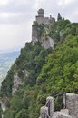 Rocca guaita san marino in the republic of Royalty Free Stock Photography