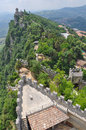 Rocca guaita san marino in the republic of Stock Photo