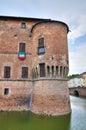 Rocca Sanvitale. Fontanellato. Emilia-Romagna. Ita Royalty Free Stock Photo