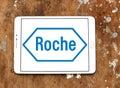 Roche pharmaceutical company logo