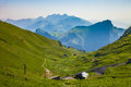 Rocher de Naye I, Switzerland Royalty Free Stock Images
