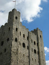 Rochester castle 2 Royalty Free Stock Photo