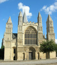 Rochester cathedral 1 Royalty Free Stock Photo