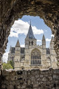 Rochester Cathedral in England Royalty Free Stock Photo