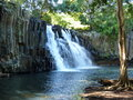 Rochester falls in mauritius island Royalty Free Stock Images