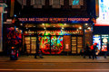 Rock of Ages Broadway Musical, Manhattan, NYC Royalty Free Stock Photo