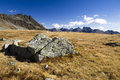 Rock alpine and mountains in austria Stock Photography