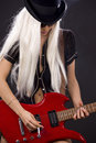 Rock babe Royalty Free Stock Photo