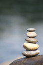 Rock balance Stock Image