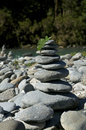 Rock Cairn Royalty Free Stock Images