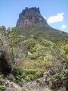 Rock castle at Chapada Diamantina Royalty Free Stock Photo