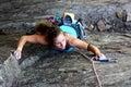 Rock climber Royalty Free Stock Photo