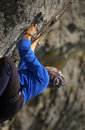 Rock climber Royalty Free Stock Image