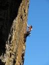 Rock climber Royalty Free Stock Photography