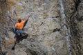Rock climber. Royalty Free Stock Photo