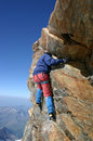 Rock climbers Stock Photos