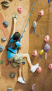 Rock Climbing Series A 15 Stock Photo