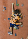 Rock Climbing Series A 2 Royalty Free Stock Image