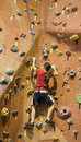 Rock Climbing Series A 22 Stock Photography