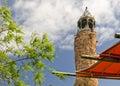 Rock climbing tower Royalty Free Stock Image