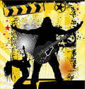 Rock concert background Royalty Free Stock Photo
