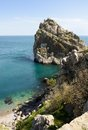 Rock diva simeiz crimea ukraine near black sea Stock Image